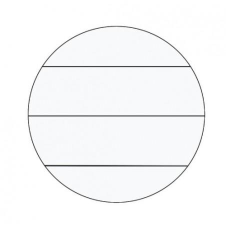 LEITZ Carnets WOW, format A4, ligné, Orange métallique 80 feuilles, 90 g/m2
