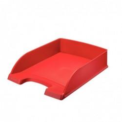 LEITZ Plus Corbeille à courrier Hauteur 70mm Rouge