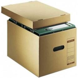 LEITZ boîte d'archivage et de transport, en carton ondulé