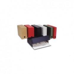 FAST Boîte transfert toile, dos de 12 cm, en carton rigide noir