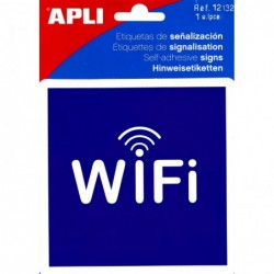 APLI Pictogramme zone wifi 114 x 114 mm