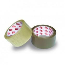 APLI Ruban emballage en PP (avec un adhésif sans solvant)  48 mm x 66 m