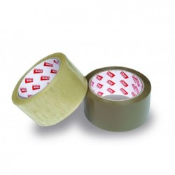 APLI Ruban emballage PP avec un adhésif sans solvant 48 mm x 66 m