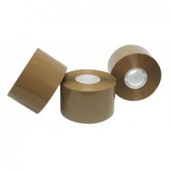 APLI Ruban emballage compact en PP + acrylique sans bruit 48 mm x 132 m