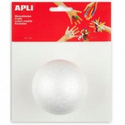 APLI Sachet 1 boule polystyrene Ø 80 mm