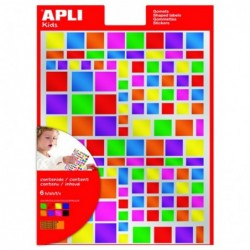 APLI Pochette 6 feuilles de...