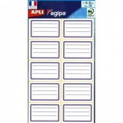 AGIPA Pochette de 120 étiquettes Ecolier 36 x 56 mm