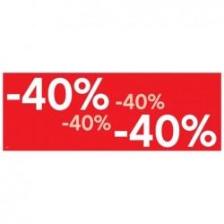 APLI Paquet de 15 affiches - 40 % 69x24 cm