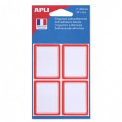 AGIPA Pochette de 32 étiquettes scolairs  38 x 50 mm