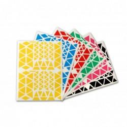 AGIPA Pochette de 2160 gommettes triangles couleurs assorties  160 x 216 mm