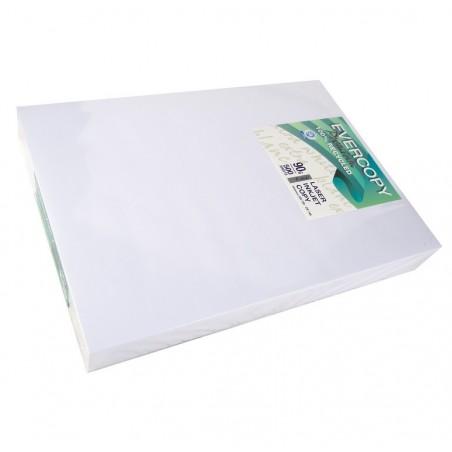 EVERCOPY Ramette 500 Feuilles Papier 90g A3 420x297 mm Certifié Ange Bleu Premium Blanc