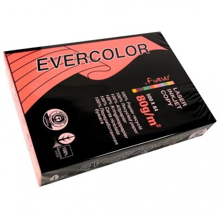 EVERCOLOR Ramette 500 Feuilles Papier 80g A4 210x297 mm Certifié Ange Bleu   framboise