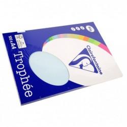 TROPHÉE Ramette 100 Feuilles Papier 80g A4 210x297 mm Bleu