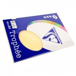 TROPHÉE Ramette 100 Feuilles Papier 80g A4 210x297 mm Certifié FSC  chamois