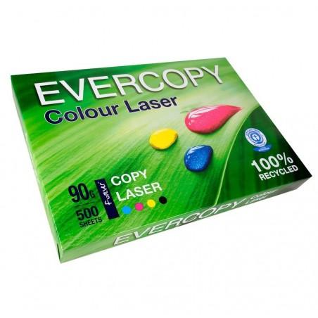 EVERCOPY Ramette 500 Feuilles Papier 90g A3 420x297 mm Certifié Ange Bleu Laser Blanc
