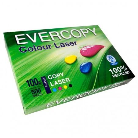 EVERCOPY Ramette 500 Feuilles Papier 100g A3 420x297 mm Certifié Ange Bleu Laser Blanc