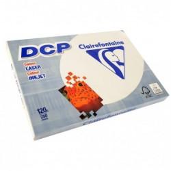 CLAIREFONTAINE Ramette 250 Feuilles Papier DCP 120g A3 420x297 mm Certifié FSC  Ivoire