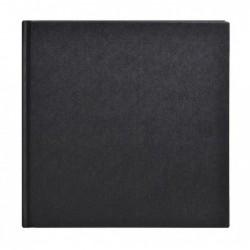 CLAIREFONTAINE Carnet Goldline rigide pap blanc 140g collé 20x20