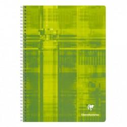 CLAIREFONTAINE Cahier reliure intégrale 21x29,7 180p séyès
