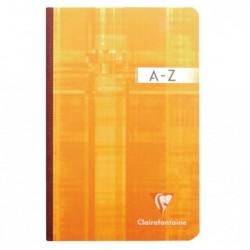 CLAIREFONTAINE Répertoire Metric 210x297cm A4 192p./96 f 90 g brochure dos toilé quadrillé 5x5