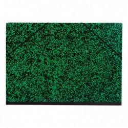 CLAIREFONTAINE Carton à dessin B3 Annonay vert élastique 37x52