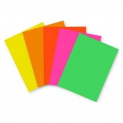 CLAIREFONTAINE Affiche fluo, paquet de 100F A3