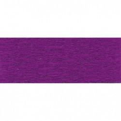 CLAIREFONTAINE Rouleau de papier crépon 75% 2,50x0,50m violet