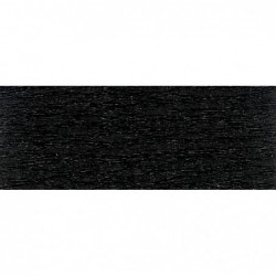 CLAIREFONTAINE Rouleau de papier crépon 75% 2,50x0,50m noir