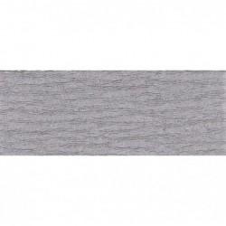 CLAIREFONTAINE Rouleau de papier crépon 75% 2,50x0,50m gris