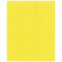 CLAIREFONTAINE Rouleau carton ondulé 50x70cm jaune citron