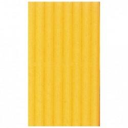 CLAIREFONTAINE Rouleau carton ondulé 50x70cm jaune or