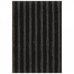 CLAIREFONTAINE Rouleau carton ondulé 50x70cm noir