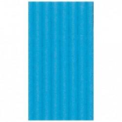 CLAIREFONTAINE Rouleau carton ondulé 50x70cm bleu pétrole