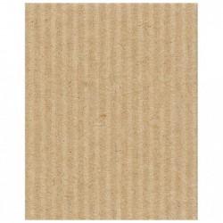 CLAIREFONTAINE Rouleau carton ondulé 50x70cm kraft
