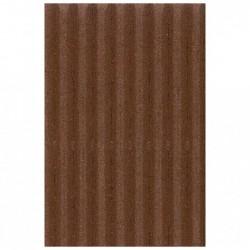 CLAIREFONTAINE Rouleau carton ondulé 50x70cm chocolat
