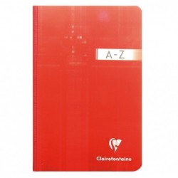 CLAIREFONTAINE Répertoire broché 17x22 192p Q.5x5