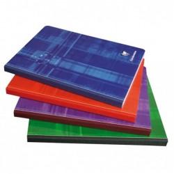CLAIREFONTAINE Cahier Brochure Toilé 17x22 cm 384 Pages Séyès Coloris Aléatoire