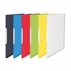 ESSELTE Protège-documents souple Vivida, translucide, 20 pochettes, A4, assorties