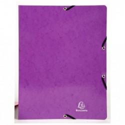 EXACOMPTA Classeur A4 4anxØ15mm Iderama violet
