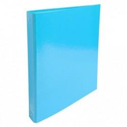 EXACOMPTA Classeur A4 2 anneaux 30mm Iderama, bleu clair