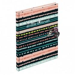 EXACOMPTA Journal int.17x16cm 180p lign LITTLE M.