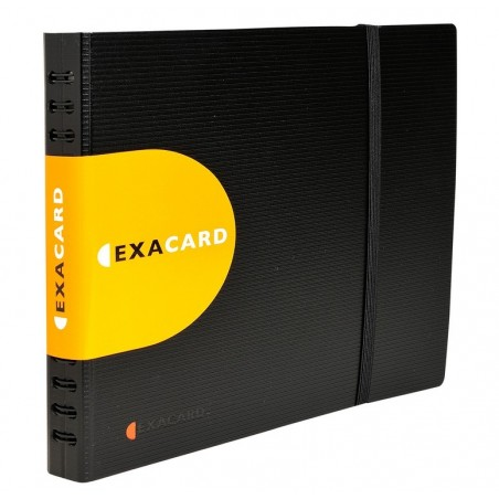 EXACOMPTA Porte cartes de visite détachable Exacard 240 cartes 20x25cm 75134
