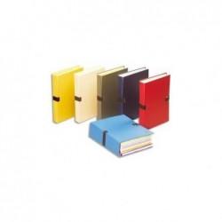 5 ETOILES Chemise extensible recouverte de papier toilé coloris assortis