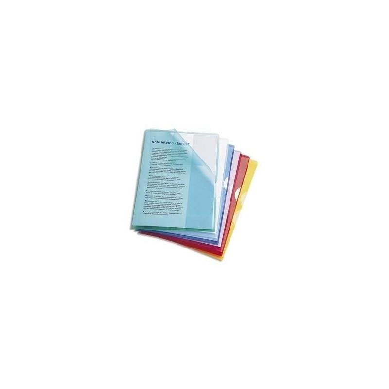 ELBA Sachet de 10 pochettes-coin Fard'or en PVC 14/100e vert