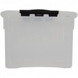 EXACOMPTA Boîte de rangement Multiboxx 5L Office cristal