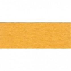CLAIREFONTAINE Rouleau de papier crépon 75% 2,50x0,50m jaune or