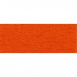 CLAIREFONTAINE Rouleau de papier crépon 75% 2,50x0,50m orange