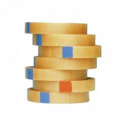 TESA pack de 12 ruban adhésif d'emballage 4104, 12 mm x 66 m