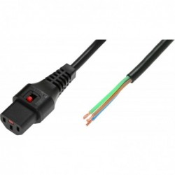 MICROCONNECT IEC LOCK C13 1 m Câble Perdu