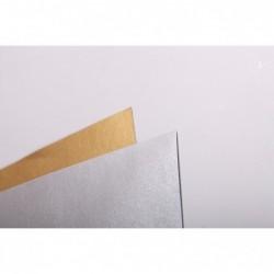 CLAIREFONTAINE Lot Goldline 45x64 25F 280g Argent
